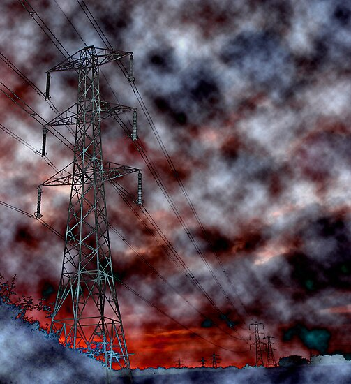 """Invasion Of The Pylons"" by zoom"