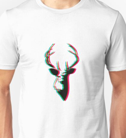 3D Deer - Awesome & Psychadelic Unisex T-Shirt