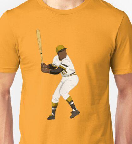 Roberto Clemente Batting Art Unisex T-Shirt