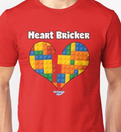 Valentines Shirt For Boys Heart Bricker (TM) Blocks Brick Unisex T-Shirt