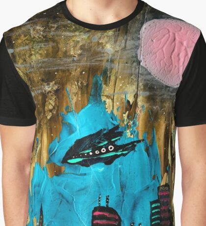 Space Port the sequel Graphic T-Shirt