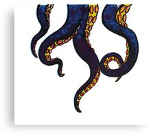 tentacle monster Canvas Print