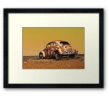 The Beetle Framed Print