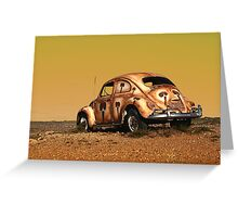 The Beetle Greeting Card