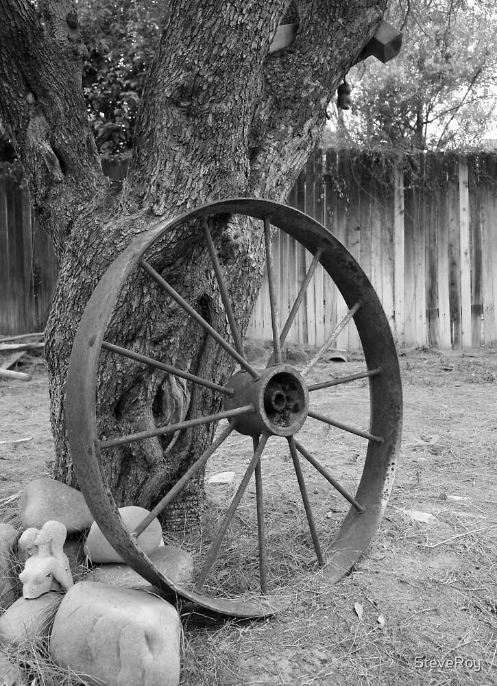 Old Wheel by SteveRoy