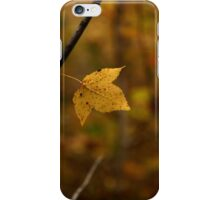 Little Yellow Leaf iPhone Case/Skin