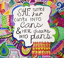 Can't Into Can, Dream Into Plan by reclaimedforyou
