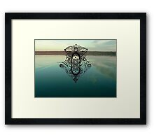 The story told me a dream Framed Print