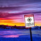 Danger! Unsafe Ice! by LudaNayvelt