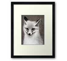 Inari the Fox Framed Print