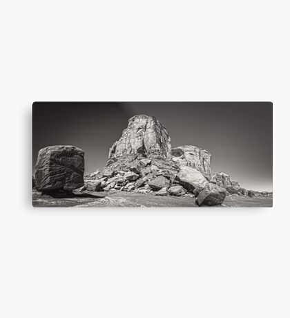 Desolate Vista - Monument Valley Metal Print