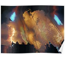 The Rialto Towers Poster