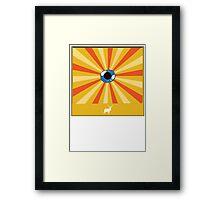 deer and an eye Framed Print