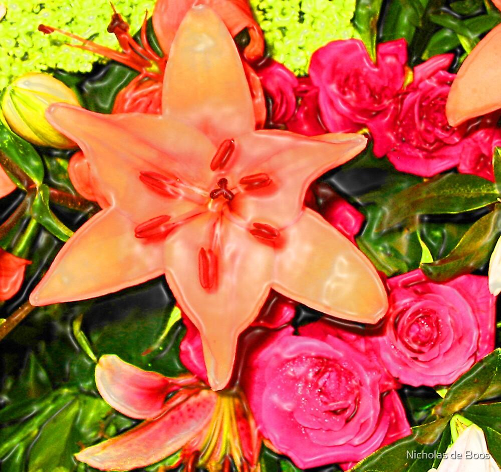 Flowers by Nicholas de Boos
