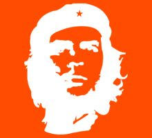 Che Guevara, Cuba, Peoples Revolution, in white by TOM HILL - Designer