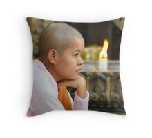 Nun Throw Pillow
