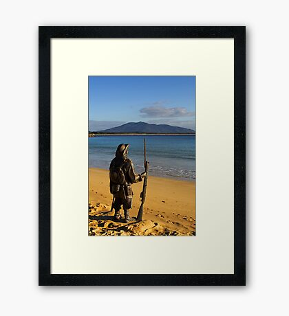 Horseshoe Bay at Bermagui Framed Print