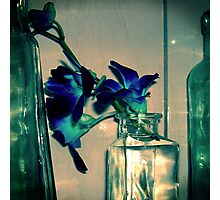 Vintage Blue Photographic Print