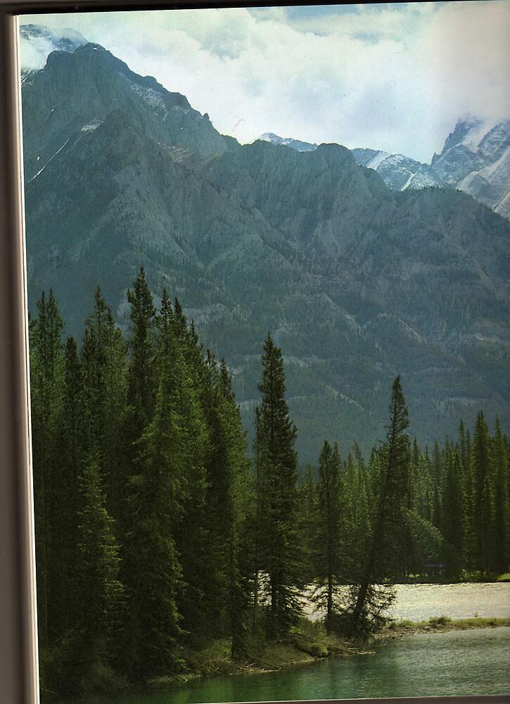 alberta mountain peaks by oilersfan11