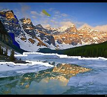 morraine lake by oilersfan11