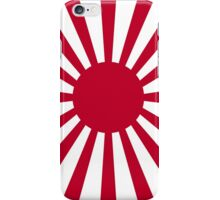 War flag, Imperial Japanese Army, JAPAN, Portrait iPhone Case/Skin