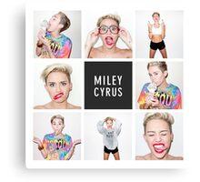 Miley - Ice Cream Canvas Print
