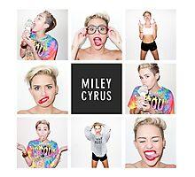 Miley - Ice Cream Photographic Print