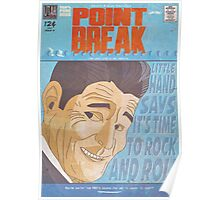 Point Break Comic Style Poster Poster