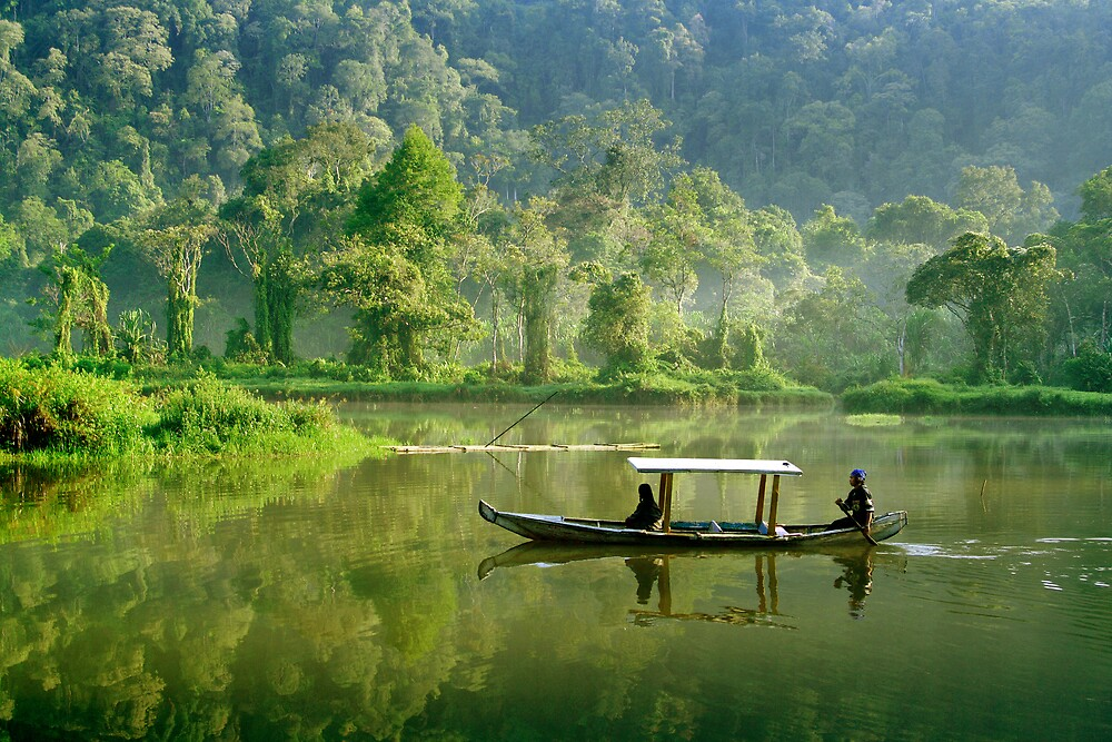 West Java misty morning by rarindra
