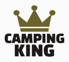 Camping king champion Kids Tee