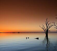 Lake Sunset by smylie