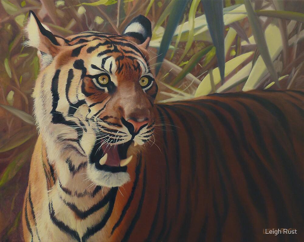 Binjai - Sumatran tigress by Leigh Rust