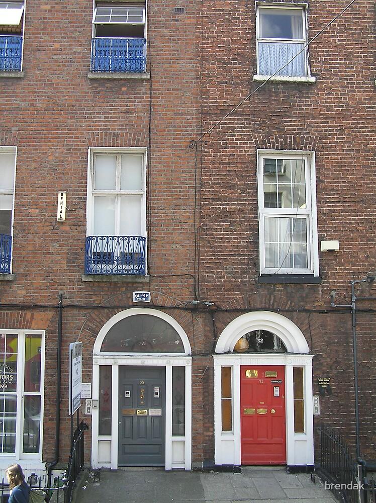 Georgian doors seen around Dublin by brendak