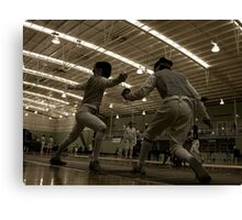 Australian National Fencing Tournament 2007, Perth WA  Canvas Print