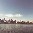 New York City Skyline by thomasrichter