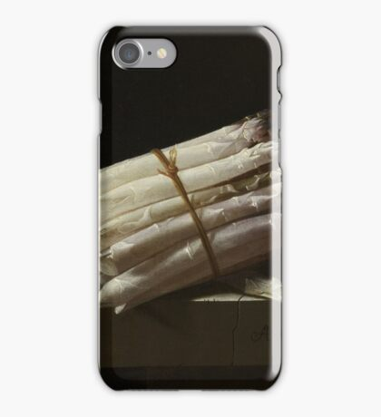Asparagus Still Life Painting iPhone Case/Skin
