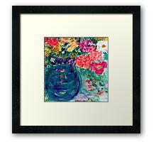 Romance Flowers Artist Designed Decor & Gifts Framed Print