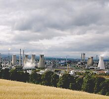 Grangemouth Oil Refinery by Chris Clark