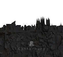 The Skyline of Canterbury by cantarte