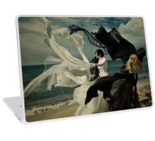 We are the sparkle of black and white clashing Laptop Skin