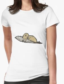 Leaellynasaura Womens Fitted T-Shirt