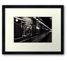 The Passenger Framed Print