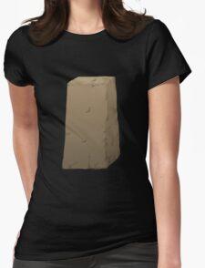 Glitch Abbasid Land adobe 2 short Womens Fitted T-Shirt