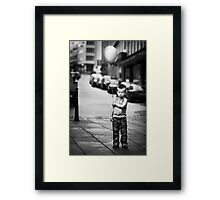 Discontent Framed Print