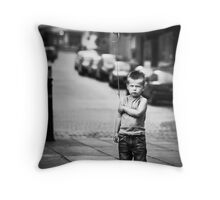 Discontent Throw Pillow