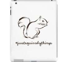 Just Squirrely Things Squirrel iPad Case/Skin