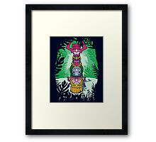 Cult of Villains. Framed Print