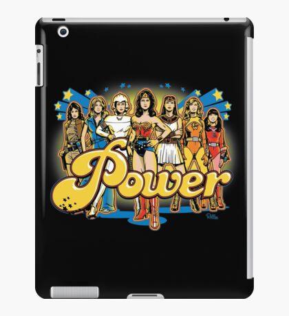 Women of 70s TV - POWER! iPad Case/Skin