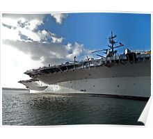 Naval Aircraft Carrier Poster