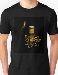 Golden microphone Unisex T-Shirt